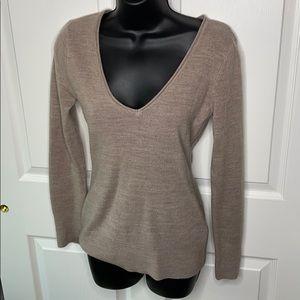 New York & company brown super soft sweater